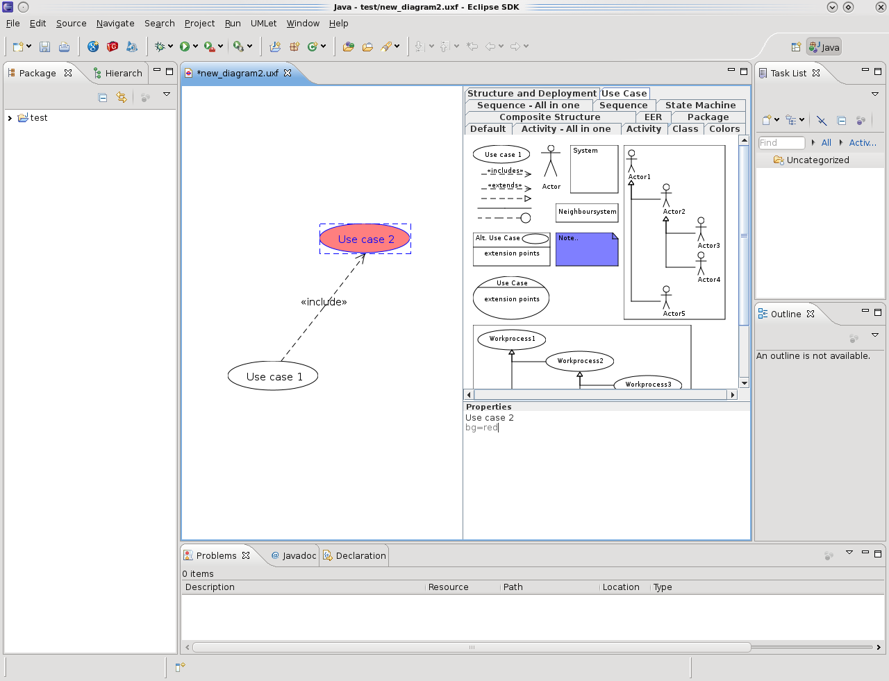 UML in eclipse « Jacobian