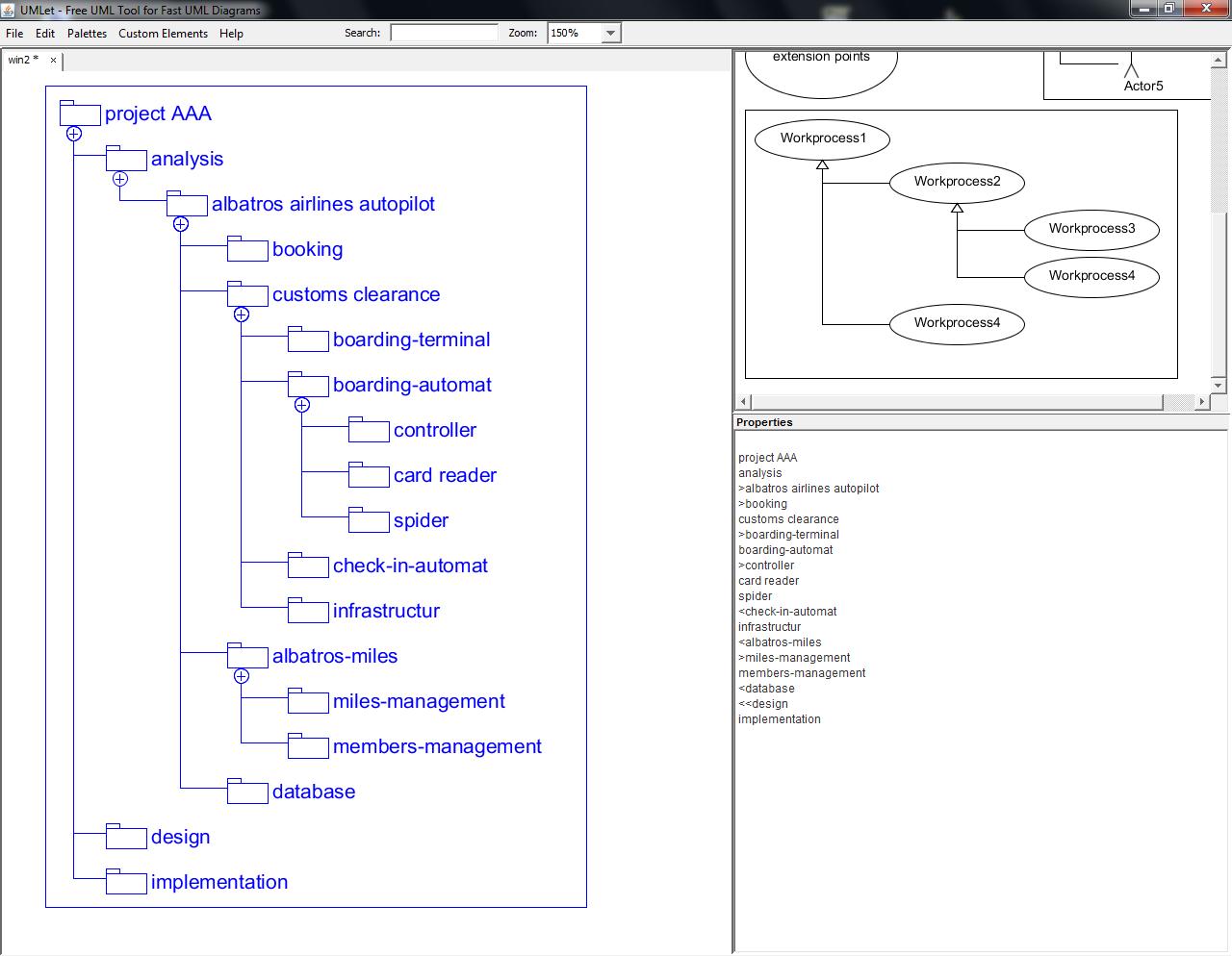 UMLet com - Screenshots